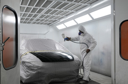 Re-Spray Booth
