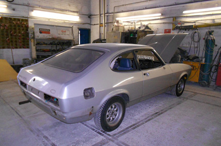Ford Capri Repair After