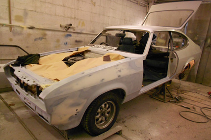Ford Capri Repair Before