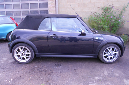 Mini Cooper S Convertible Repair After